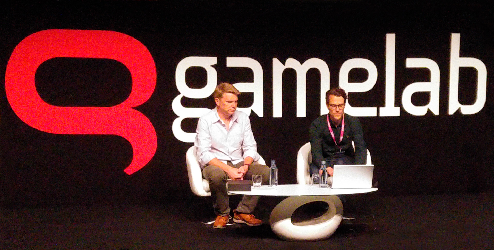 Conferencia de David Jones en GameLab Barcelona 2018