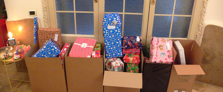 Cajas y Paquetes de regalo Reyes Magos en BaseTIS
