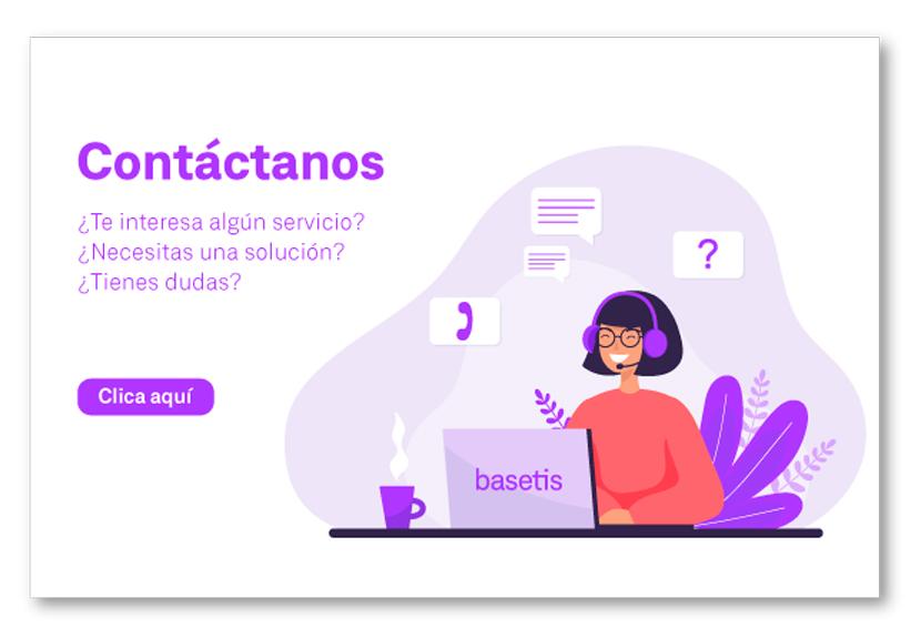 Contacta con Basetis