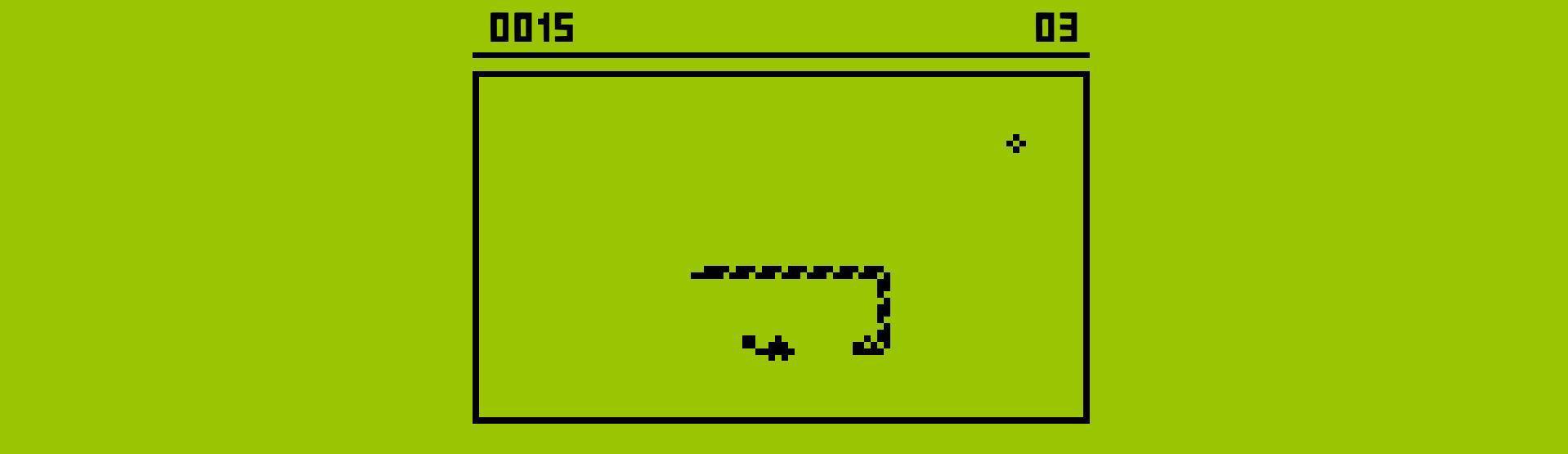 Imagen del videojuego Snake
