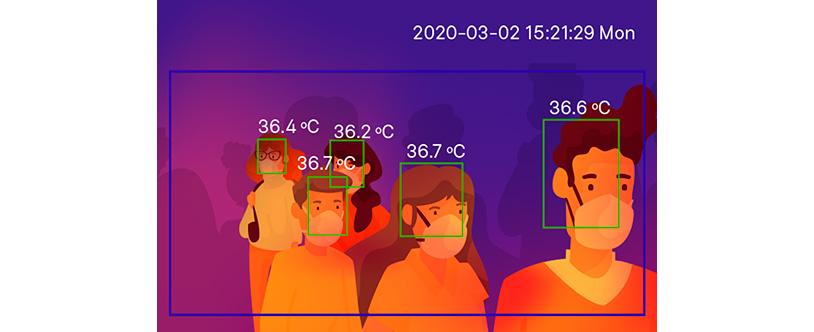 Medida de la temperatura corporal como solución al desconfinamiento en el marco de la covid-19