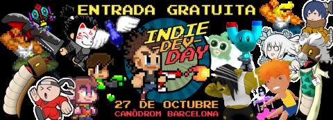 Entrada gratuita IndieDevDay con la colaboración de BaseTIS