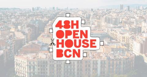 Muntatge sobre el 48 hores Open House Barcelona