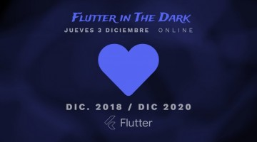 Banner descriptivo del evento flutter