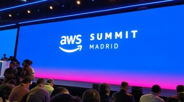 Escenario del AWS Summit Madrid 2018 - BaseTIS