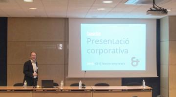 Albert Mercadé de BaseTIS al Fòrum d'Empreses del CFIS