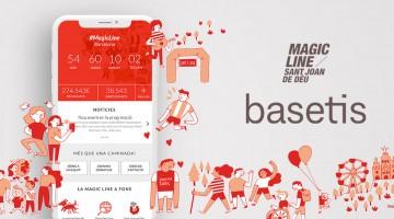 Basetis i l'app de la Magic Line