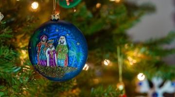 Bola de árbol de navidad reyes magos