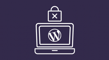 Ordenador con icono de WordPress